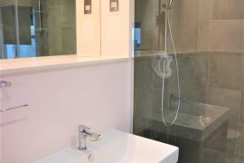 Minimalist shower  in Wapping
