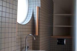 Industrial style bathroom in Southwark London