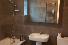 Small modern bathroom in Beckenham